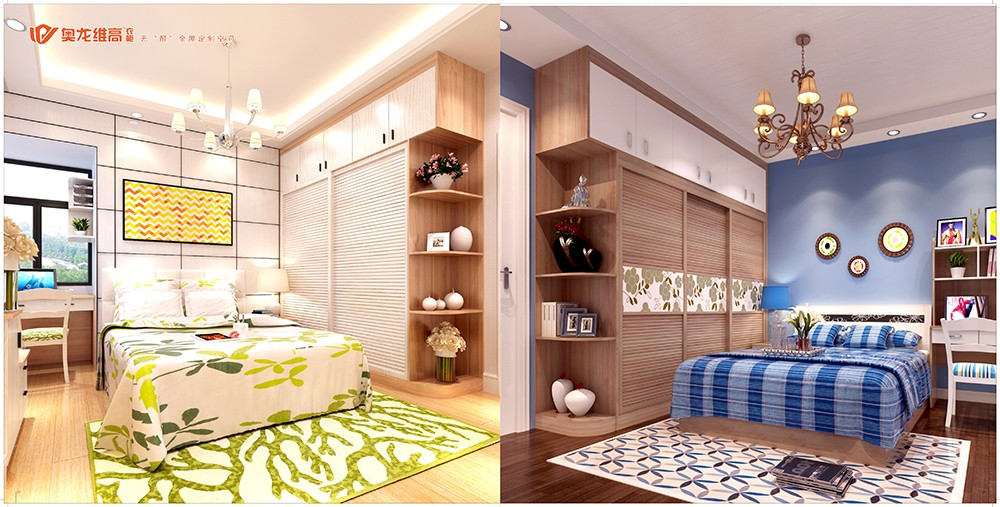 奥龙维高衣柜产品画册设计-衣柜产品画册设计公司