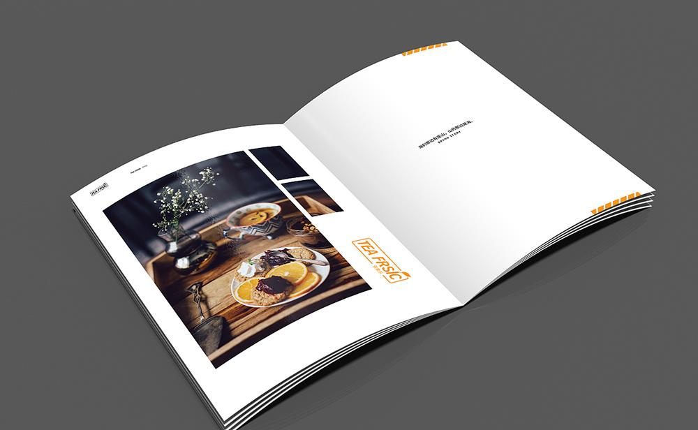 茶果乐产品画册设计,产品画册设计公司