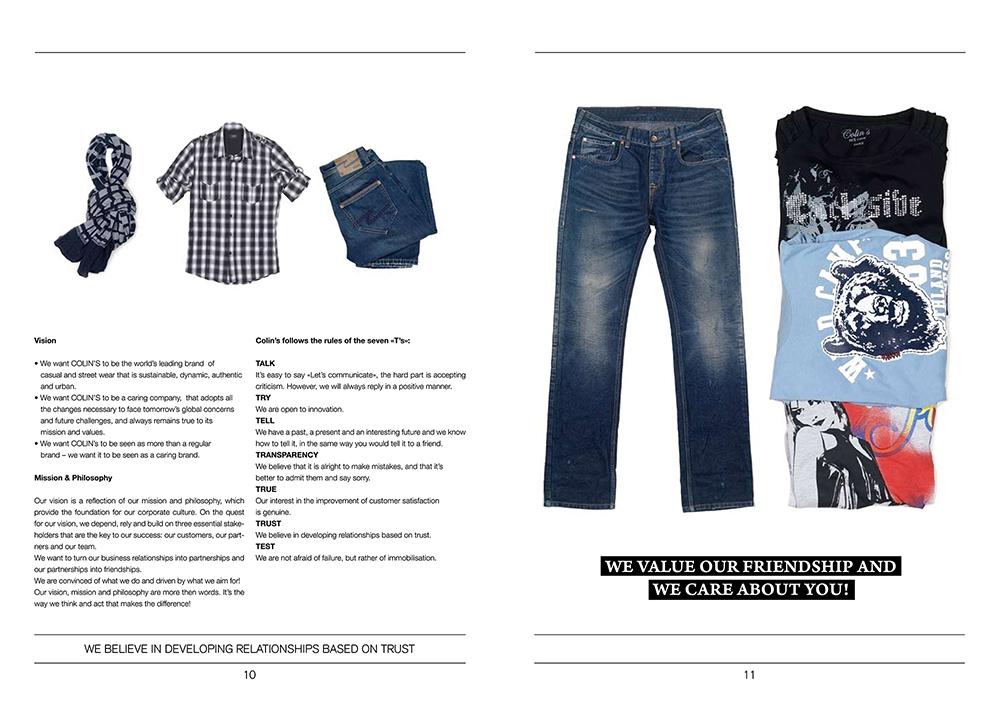 广州牛仔裤画册设计-广州服装行业画册设计公司