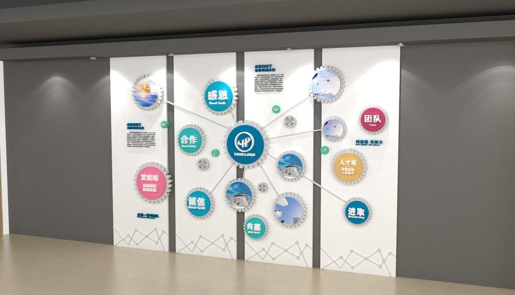 企业文化墙设计,文化墙设计制作,企业形象墙