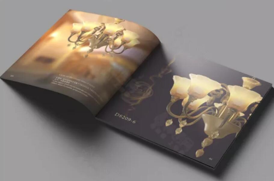 广州佛山品牌灯具行业画册设计案例欣赏