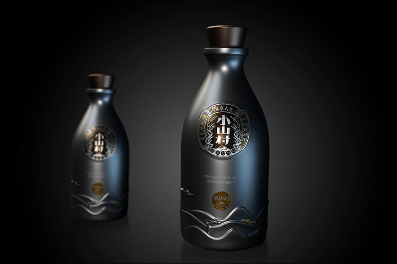 玻璃酒瓶包装设计如何设计?