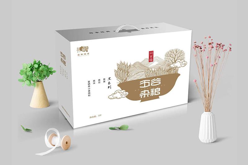 五谷杂粮包装设计是怎么样设计?