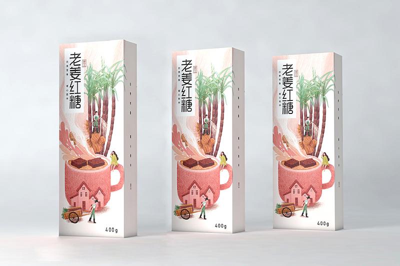 红糖包装设计应该如何设计?