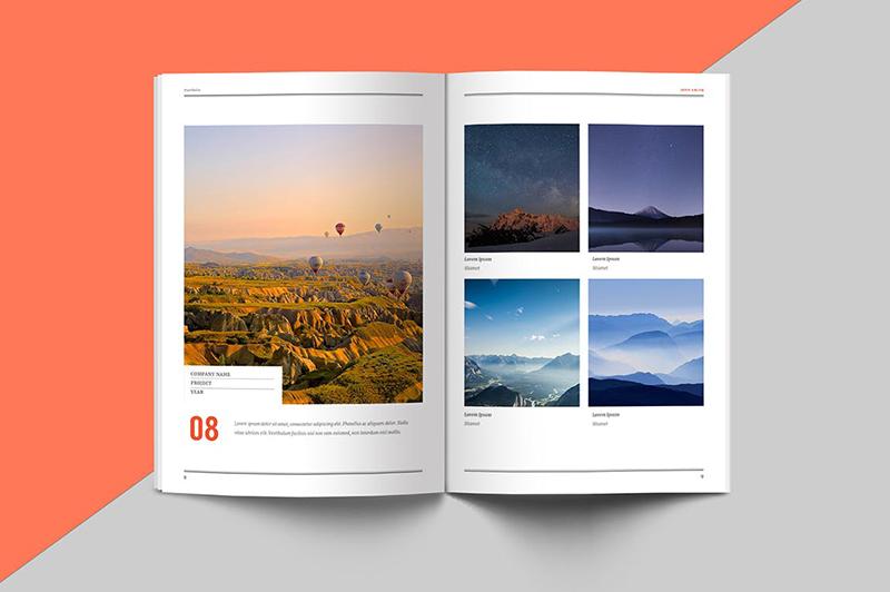 如何去设计一本充满科技感的画册设计?