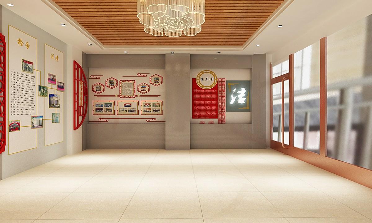 党建展厅设计-荣誉展厅设计