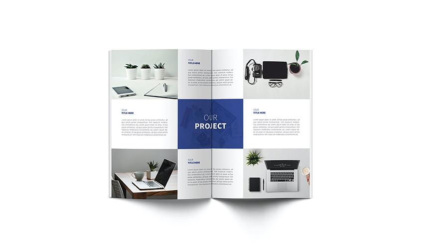 画册设计中文字排版怎样才好看  企业宣传画册设计技巧是什么