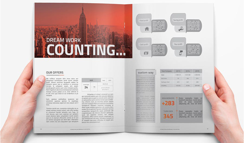 企业宣传册到底需要设计什么  画册设计的创意灵感是什么
