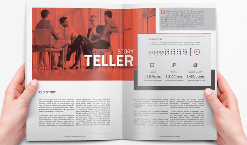 企业画册制作时应注意的细节 宣传画册设计的关键点有哪些
