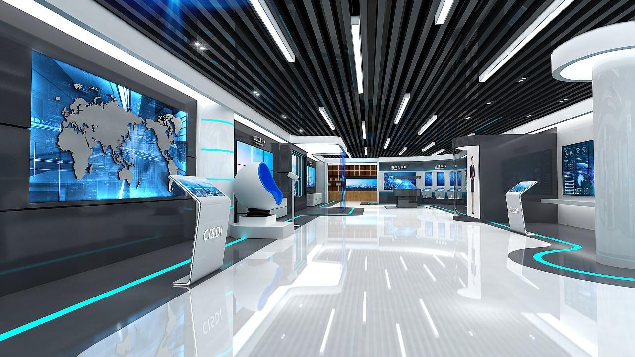 企业展厅设计-展厅设计公司