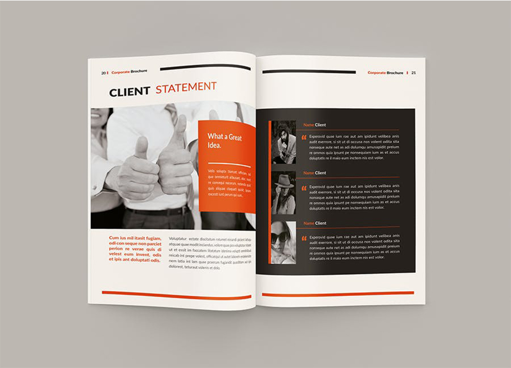 企业彩页设计费用是多少 进行企业彩页设计要注意什么