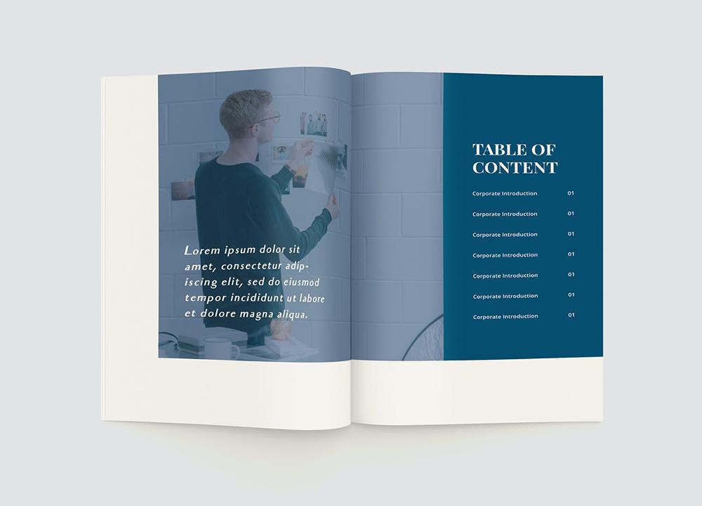 企业宣传册设计费用是多少?详解企业画册设计的收费标准