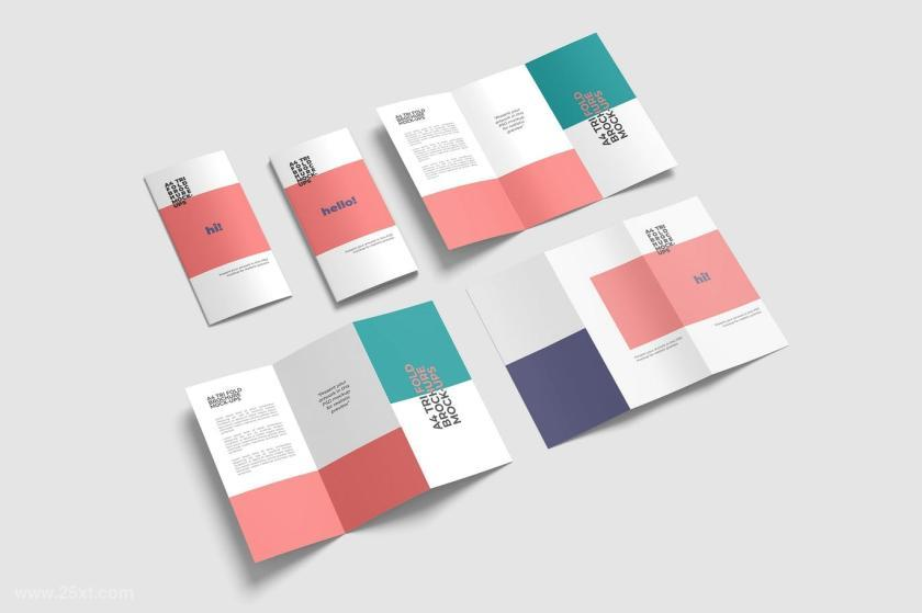 横版小册子设计是什么?尺寸多少最好