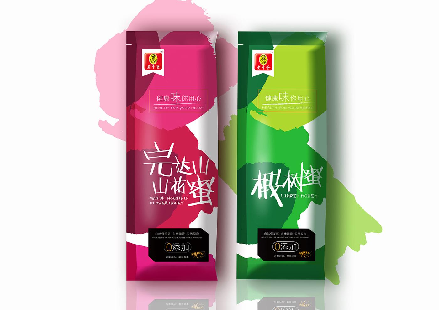 江苏老干爸食品有限公司-老干爸蜂蜜系列包装6