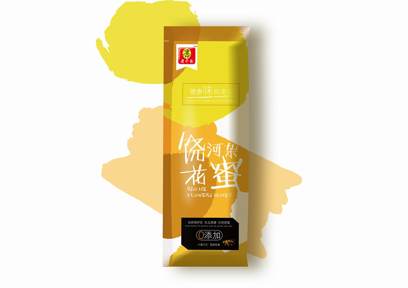 江苏老干爸食品有限公司-老干爸蜂蜜系列包装5