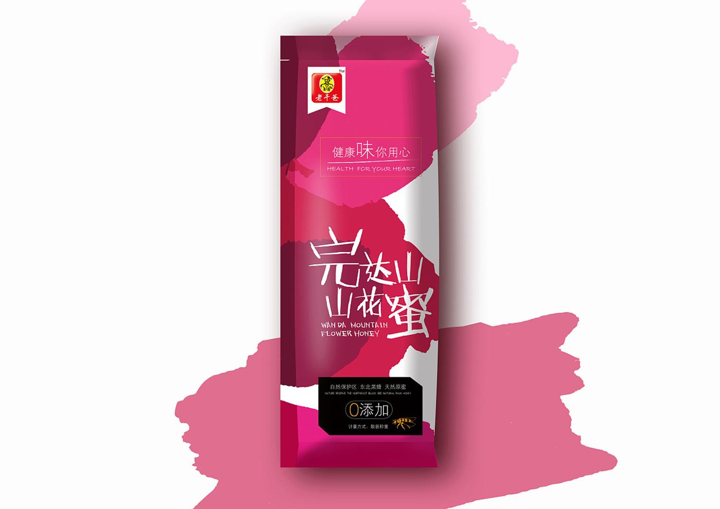 江苏老干爸食品有限公司-老干爸蜂蜜系列包装1