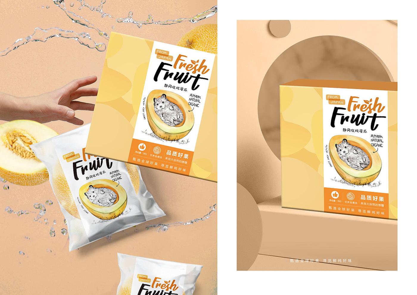 甄选水果》食品包装设计