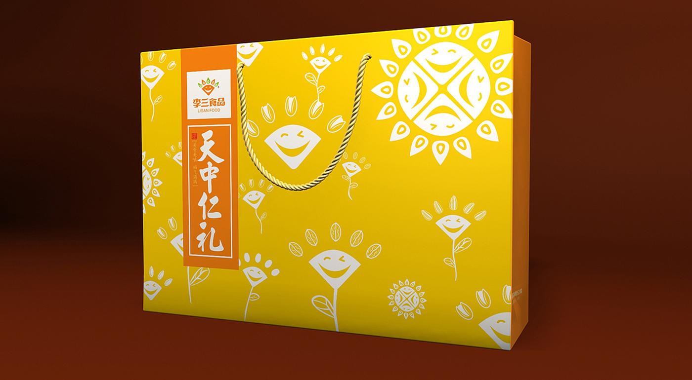 李三食品瓜子包装设计