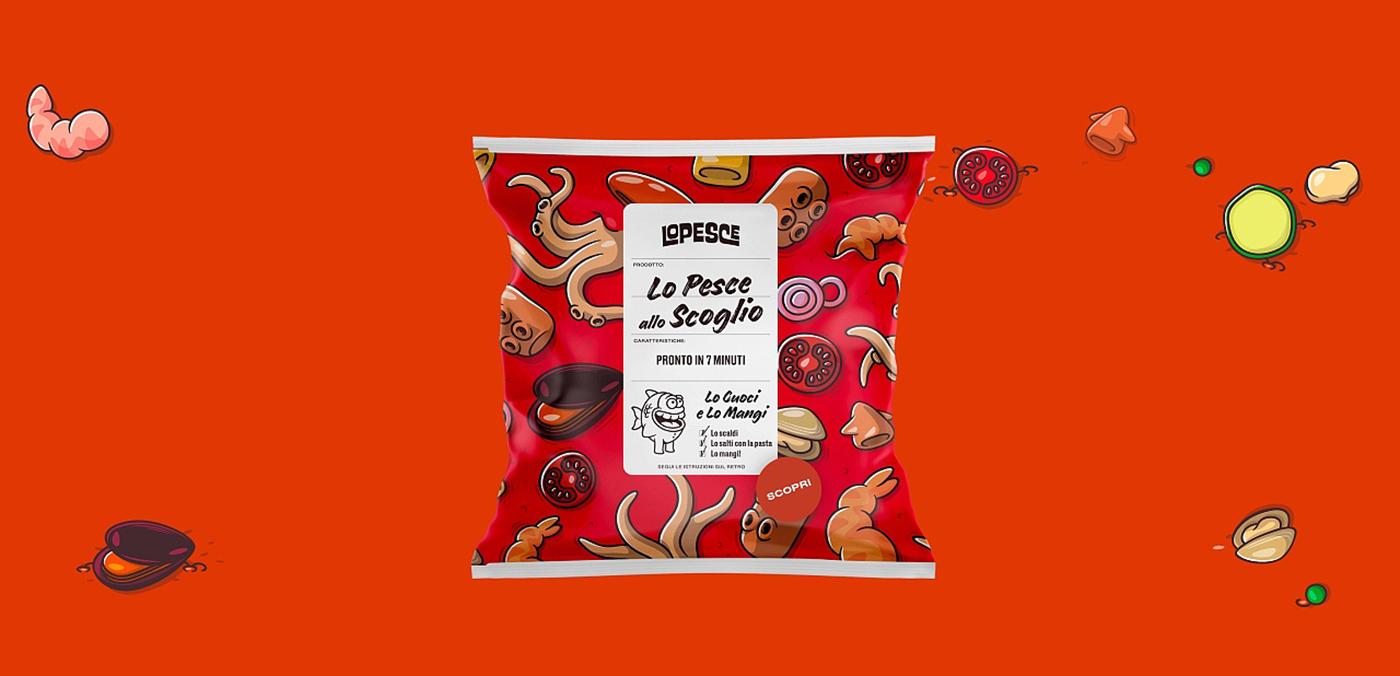 膨化食品薯片包装设计