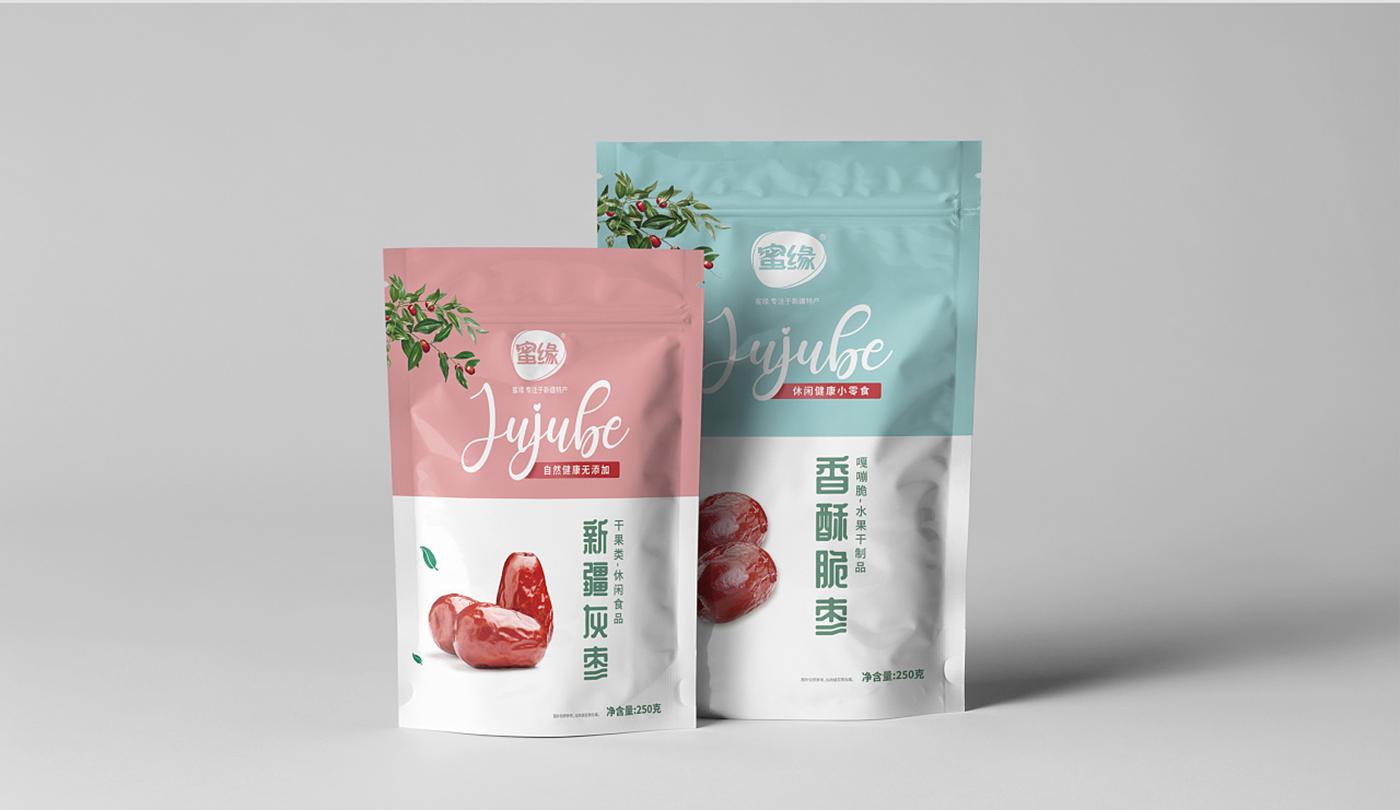 红枣类食品包装设计图1