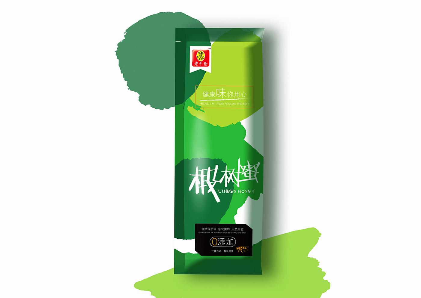 江苏老干爸食品有限公司-老干爸蜂蜜系列包装3