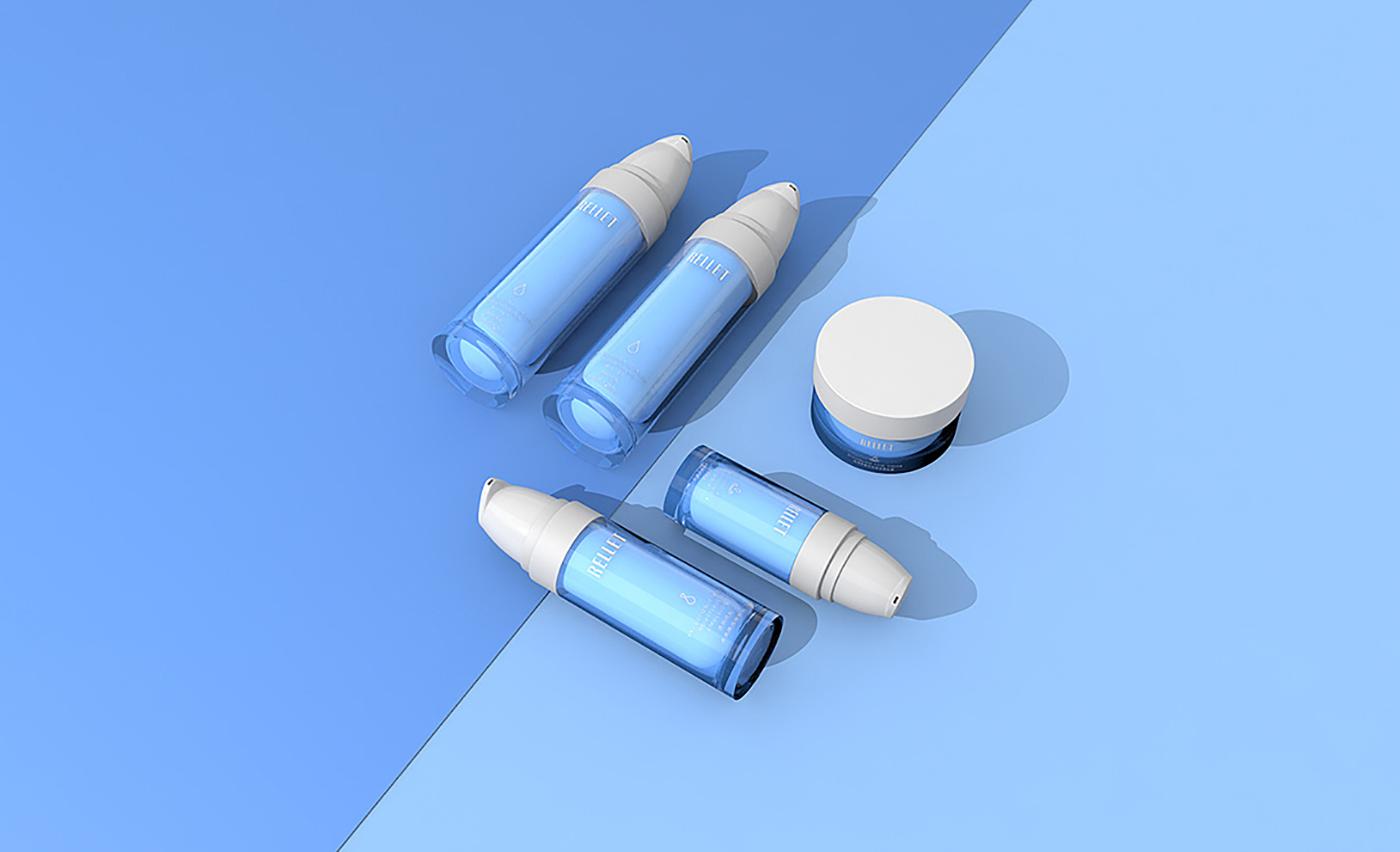 玻尿酸补水产品包装设计
