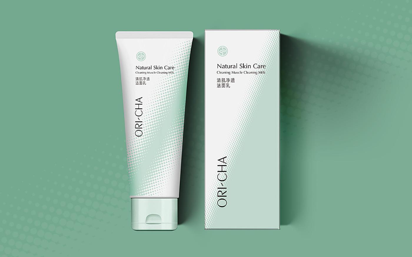ORI-CHA自然护肤专家包装设计