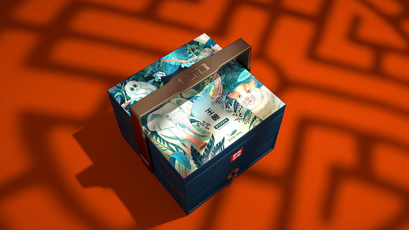 云尚古茶包装设计-极致古典中国风茶叶包装设计
