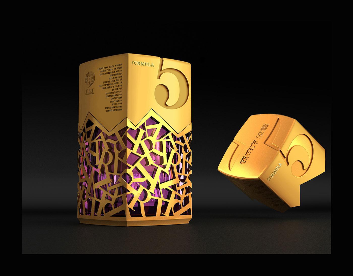 高端收藏款保健品包装设计-限量款保健品包装设计