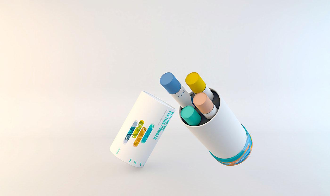 独立装保健品包装设计-真空包装保健品包装设计公司