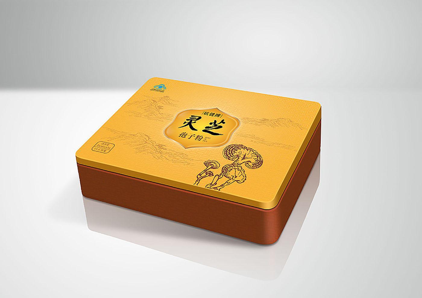 铁皮石斛保健品包装设计-高端保健品包装设计公司
