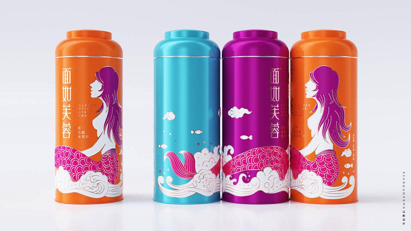 炫彩风保健品包装设计-创意保健品包装设计公司