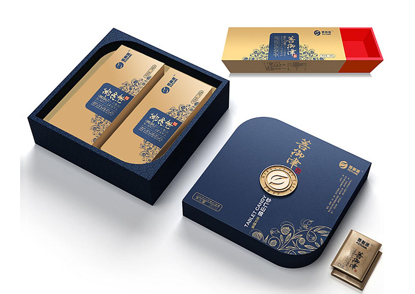 礼盒装保健品包装设计-高端保健品包装定制公司