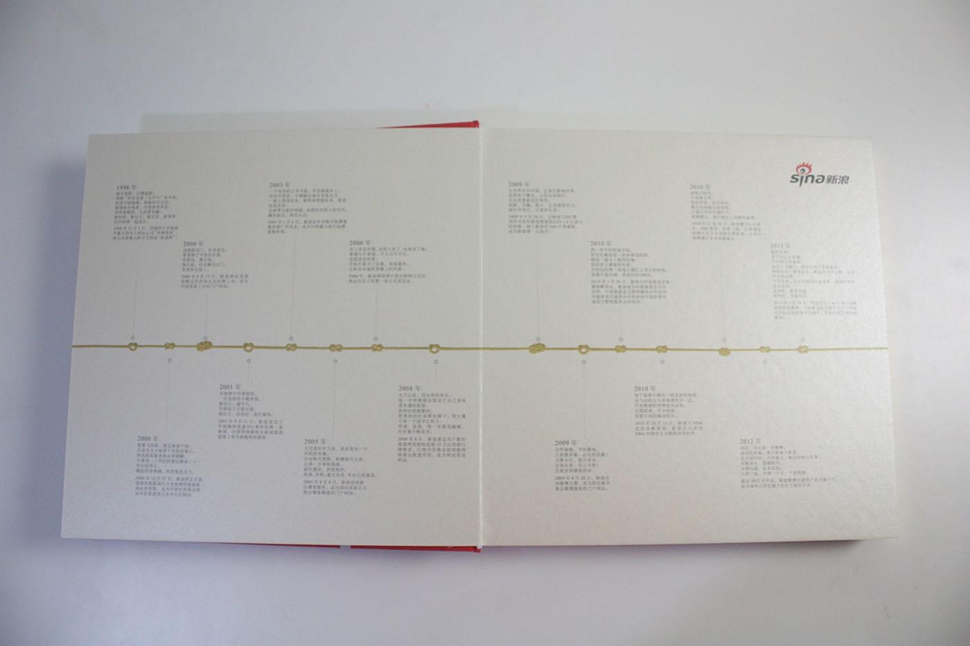 传媒企业周年纪念册-企业周年纪念册定制设计公司