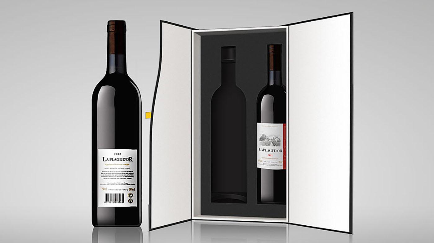高级红酒包装设计-酒类包装设计公司