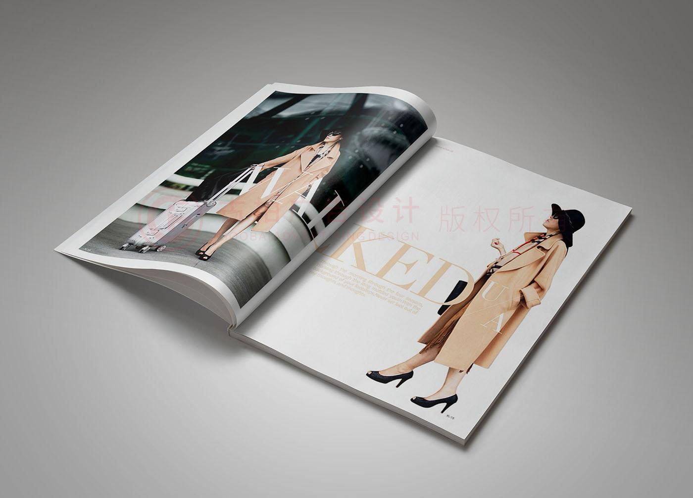 广州UA服装品牌画册设计,服装画册设计公司