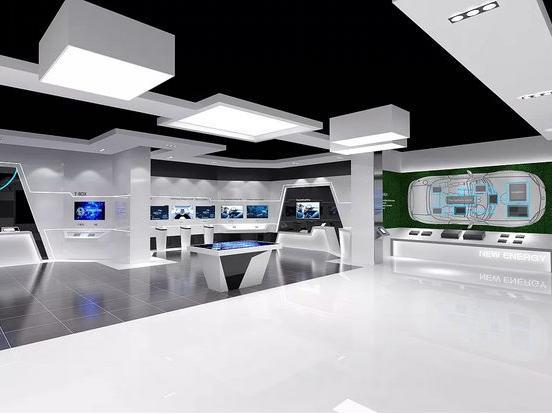 企业展厅设计费用多少