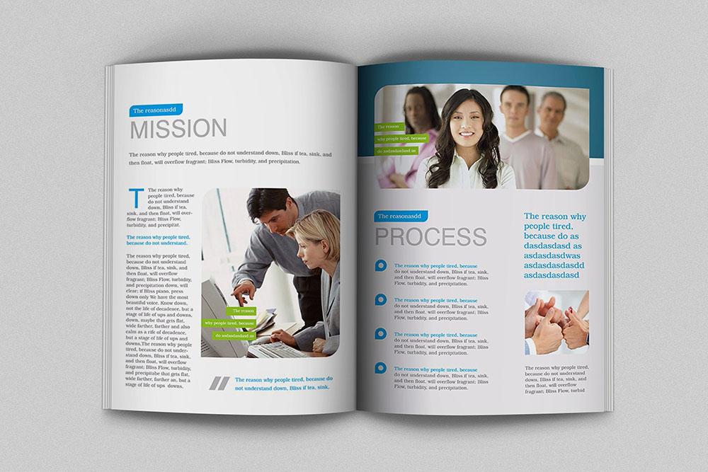 广州商务画册设计,商务品牌画册设计