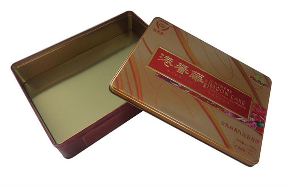 月饼盒设计制选古柏广告设计,选方形月饼铁盒还是磨砂月饼铁盒好?