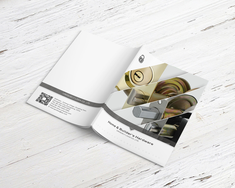 五金产品英文画册设计