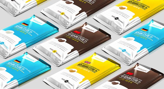 高档巧克力包装设计