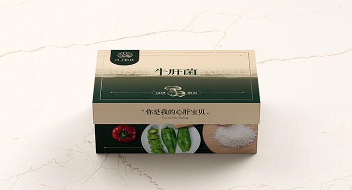 《良土拾珍》菌菇农产品包装设计