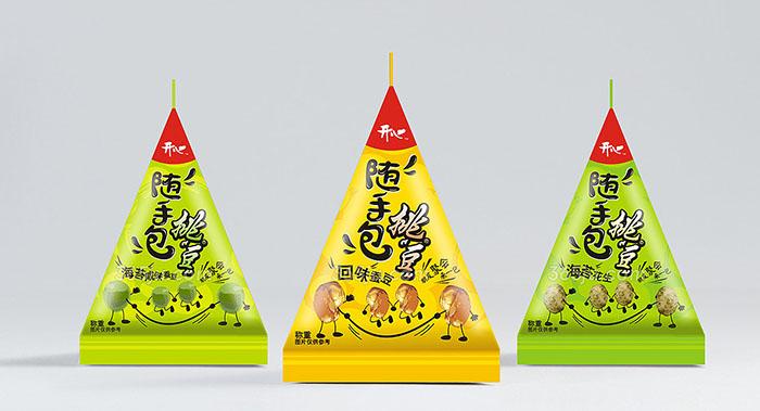 开心食品包装设计