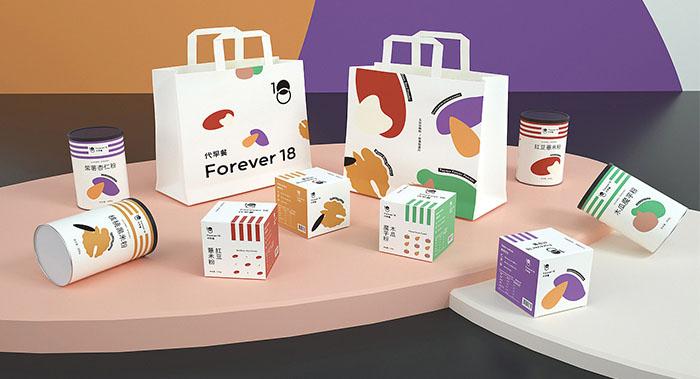 Forever18代早餐-食品包装设计