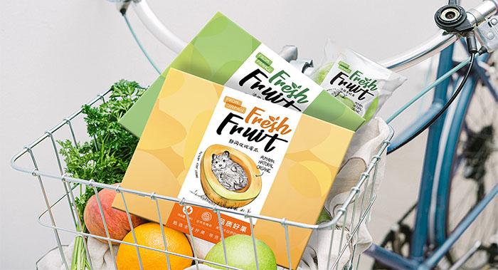 甄选水果食品包装设计