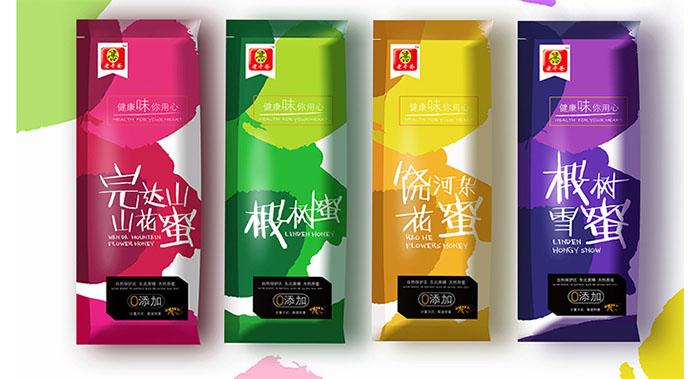 江苏老干爸食品有限公司-老干爸蜂蜜系列包装