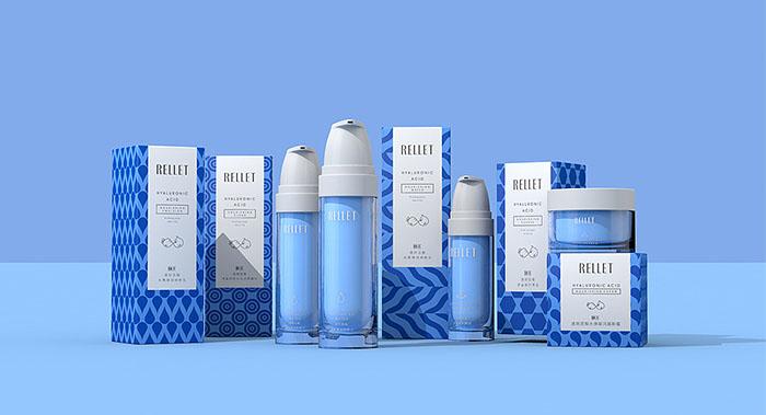 玻尿酸补水化妆品包装设计