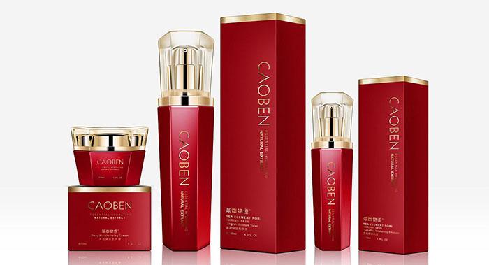 CAOBEN系列化妆品包装设计