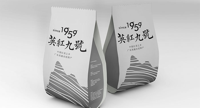 新英红九号茶叶包装-广东红茶包装设计