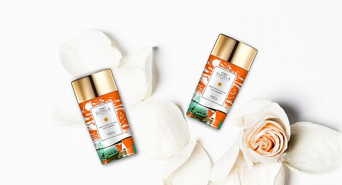 水姿兰防晒乳化妆品包装设计-防晒乳化妆品包装设计